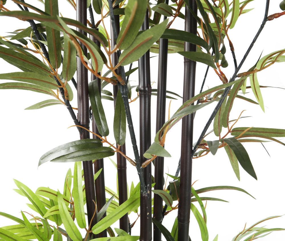 Artificial ft ″ dark brown bamboo tree artplants